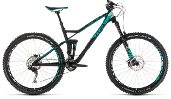 CUBE Sting WS 140 HPC Race 27.5 carbon´n´mint 2019