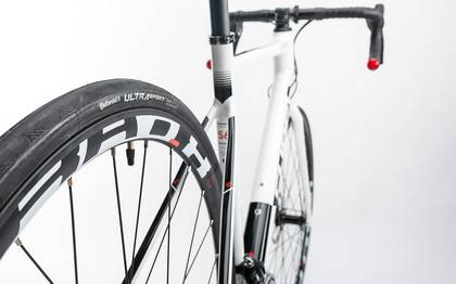 Detail image of Cube Attain Pro Disc white´n´black 2017 (11)