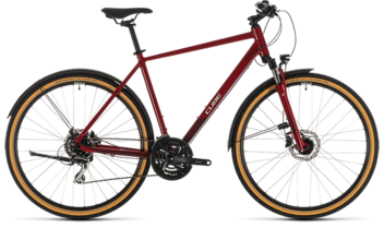 CUBE Nature Allroad red´n´grey 2020