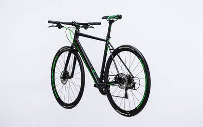 Detail image of Cube SL Road Race black´n´flashgreen 2017 (12)