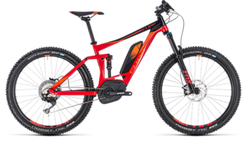 CUBE Stereo Hybrid 140 Race 500 27.5 red´n´orange 2018