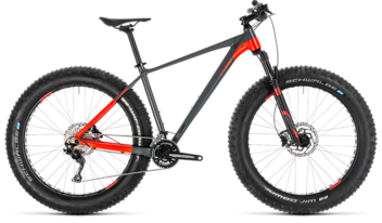 CUBE Nutrail grey´n´flashred 2019