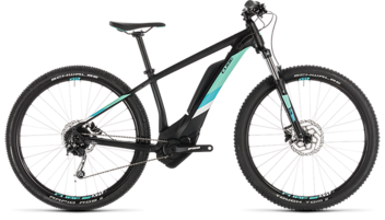 CUBE Access Hybrid ONE 400 black´n´mint 2019