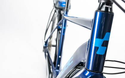 Detail image of Cube Touring Hybrid 400 blue´n´blue 2017 (4)