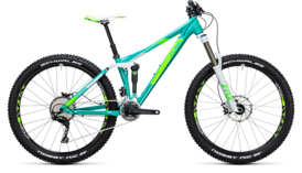 CUBE Sting WLS 140 Race 27.5 2x mint´n´green 2017