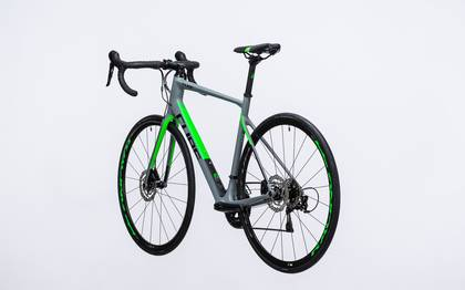 Detail image of Cube Attain GTC Pro Disc grey´n´flashgreen 2017 (12)