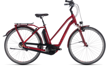 CUBE Town Hybrid Pro 400 darkred´n´red 2018