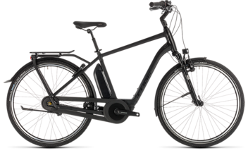 CUBE Town Hybrid EXC 400 black edition 2019