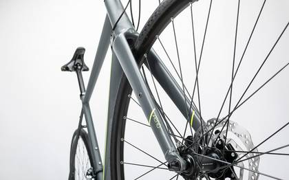 Detail image of Cube SL Road Pro grey´n´flashyellow 2017 (13)