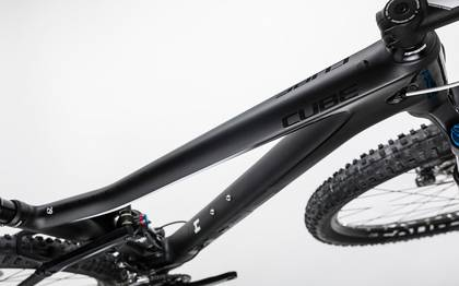 Detail image of Cube Stereo 120 HPC Race carbon´n´white 2017 (2)