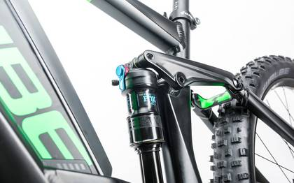 Detail image of Cube Stereo Hybrid 120 HPA Race 500 27.5+ black´n´green 2017 (11)