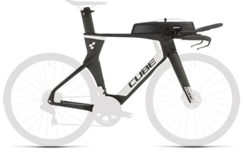CUBE Aerium C:68 TT Rahmenset HIGH carbon´n´white 2020