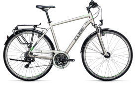 CUBE Touring silver´n´flashgreen 2017