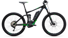 CUBE Stereo Hybrid 140 HPA Race 500 27.5 black´n´flashgreen 2017
