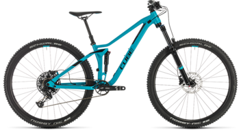 CUBE Sting WS 120 EXC turquoise´n´black 2020
