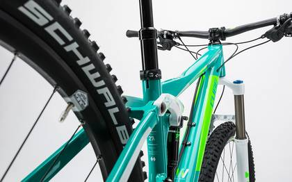 Detail image of Cube Sting WLS 140 Race 27.5 2x mint´n´green 2017 (7)