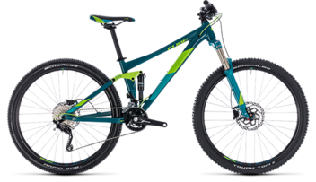 CUBE Sting WS 120 turkisblue´n´green 2018