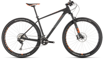 CUBE Reaction C:62 Race carbon´n´orange 2019