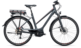 CUBE Touring Hybrid 400 grey´n´flashred 2017