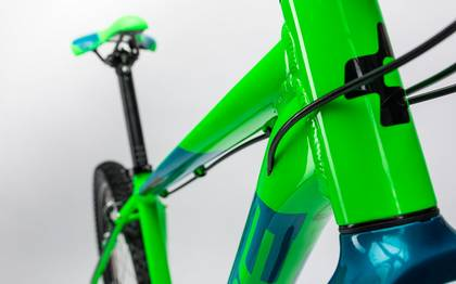 Detail image of Cube Aim 27.5 green´n´blue 2017 (6)