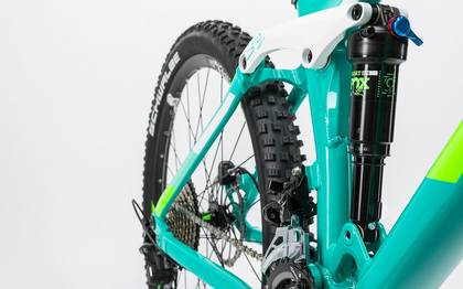 Detail image of Cube Sting WLS 140 Race 27.5 2x mint´n´green 2017 (6)