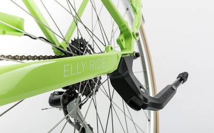 Detail image of Cube Elly Ride green´n´white 2017 (8)