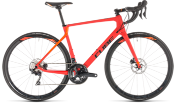 CUBE Agree C:62 Race Disc red´n´orange 2019