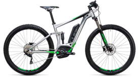 CUBE Stereo Hybrid 120 ONE 400 metal´n´green 2017