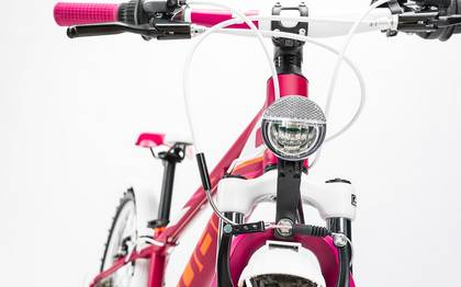 Detail image of Cube Kid 240 Allroad girl berry´n´white 2017 (13)