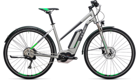 CUBE Cross Hybrid Race Allroad 500 silver´n´green 2017
