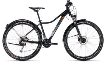 CUBE Access WS Pro Allroad black´n´orange 2018