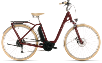CUBE Ella Ride Hybrid 400 red´n´white 2020