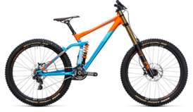 CUBE TWO15 HPA SL 27.5 blue´n´orange 2017