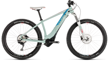 CUBE Access Hybrid EXC 500 blue´n´coral 2019