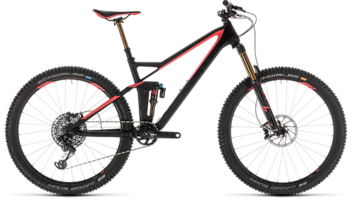 CUBE Sting WS 140 HPC SL 27.5 carbon´n´coral 2019