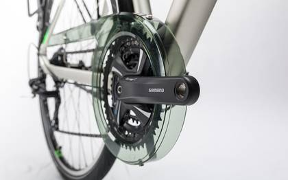 Detail image of Cube Touring silver´n´flashgreen 2017 (6)