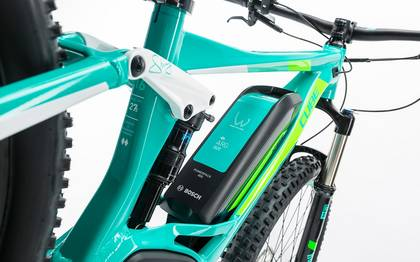 Detail image of Cube Sting WLS Hybrid 120 SL 500 27.5 mint´n´flashgreen 2017 (4)