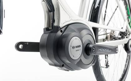 Detail image of Cube Touring Hybrid ONE 400 silver´n´flashgreen 2017 (13)