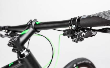 Detail image of Cube SL Road Race black´n´flashgreen 2017 (14)