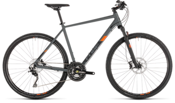 CUBE Cross EXC grey´n´orange 2019
