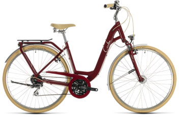 CUBE Ella Ride red´n´cream 2020