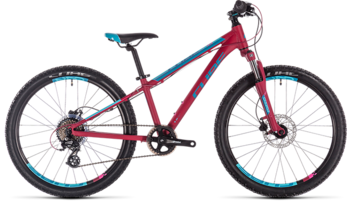 CUBE Access 240 Disc berry´n´aqua´n´pink 2019