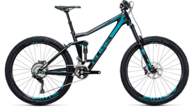 CUBE Stereo 160 C:62 Race 27.5 carbon´n´blue 2017