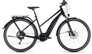 CUBE Touring Hybrid EXC 500 black´n´grey 2018 / 2019