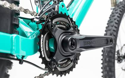 Detail image of Cube Sting WLS 140 Race 27.5 2x mint´n´green 2017 (8)