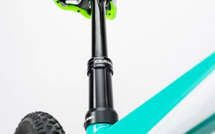 Detail image of Cube Sting WLS 140 Race 27.5 2x mint´n´green 2017 (13)