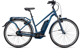CUBE Travel Hybrid Pro 400 smoky blue´n´flashorange 2017