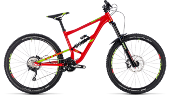 CUBE Hanzz 190 Race 27.5 red´n´lime 2018