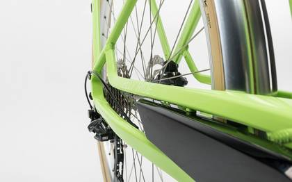 Detail image of Cube Elly Ride Hybrid 400 green´n´white 2017 (4)