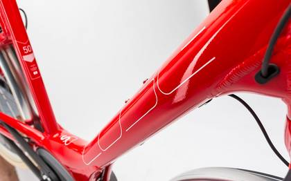 Detail image of Cube Elly Cruise Hybrid 400 red´n´white 2017 (1)